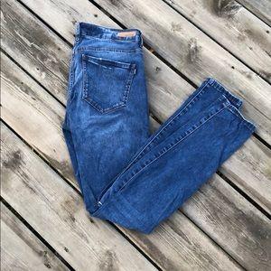 Garage Premium High Waisted Distressed Skinny Jean